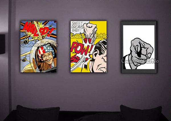 Pop art pop art en la vida cotidiana - Cuadros pop art comic ...