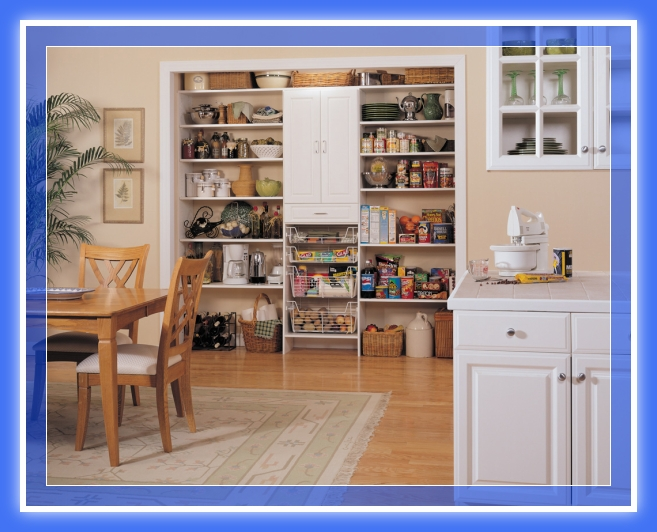 Dise os de muebles despensa pantry madera y melamina web for Despensas de cocina