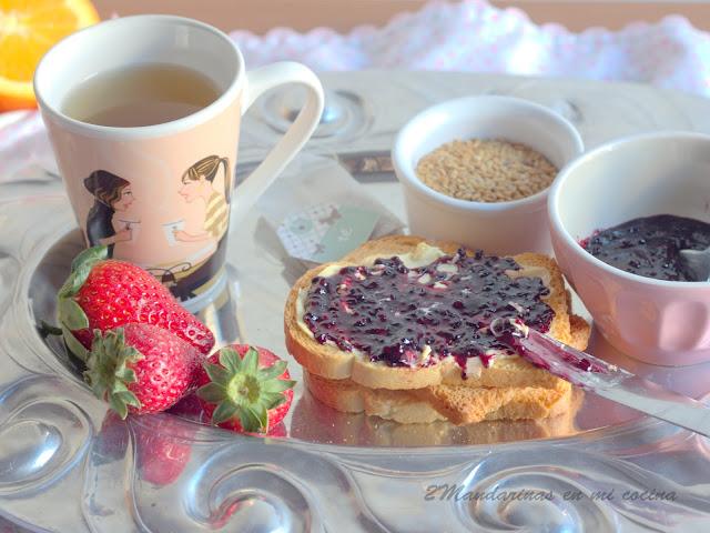 Mermelada de fresas al vinagre balsámico