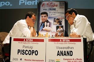 Le champion d'échecs Anand en Corse