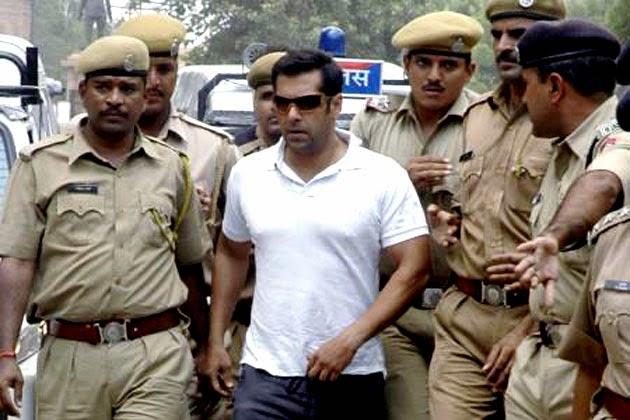 Salman Khan sentenced to five years in jail