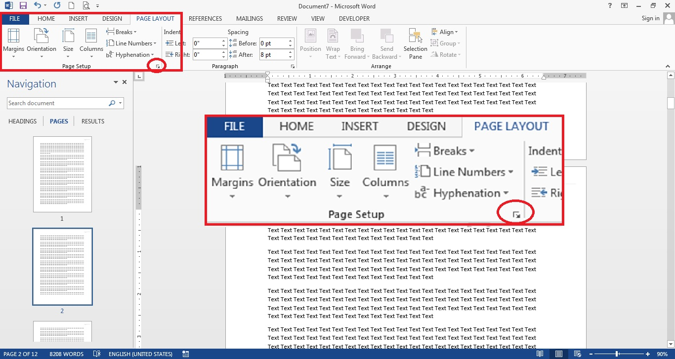 How To Make One Page Landscape In Word 2013 ItuShare