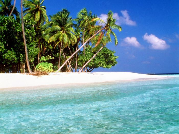 Tropical beach luxury places for Tropical places to travel