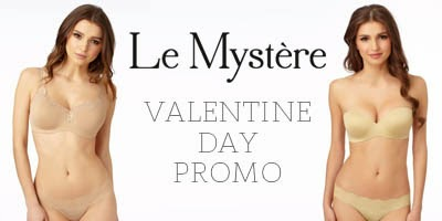 LeMystere Lingerie Valentine's Day Promo