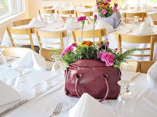 handbag centerpiece