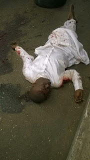 Please Who Knows This Accident Victim At Mile 2, Lagos (Photo)