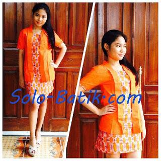Baju Batik Modern Terbaru
