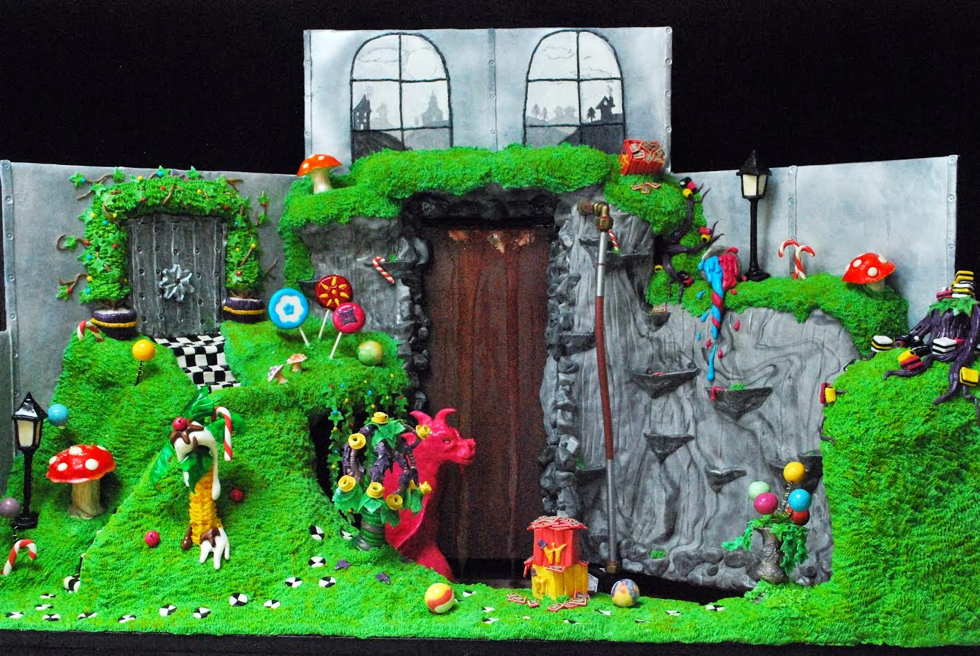 cake dahls charlie and the chocolate factory karen leonard
