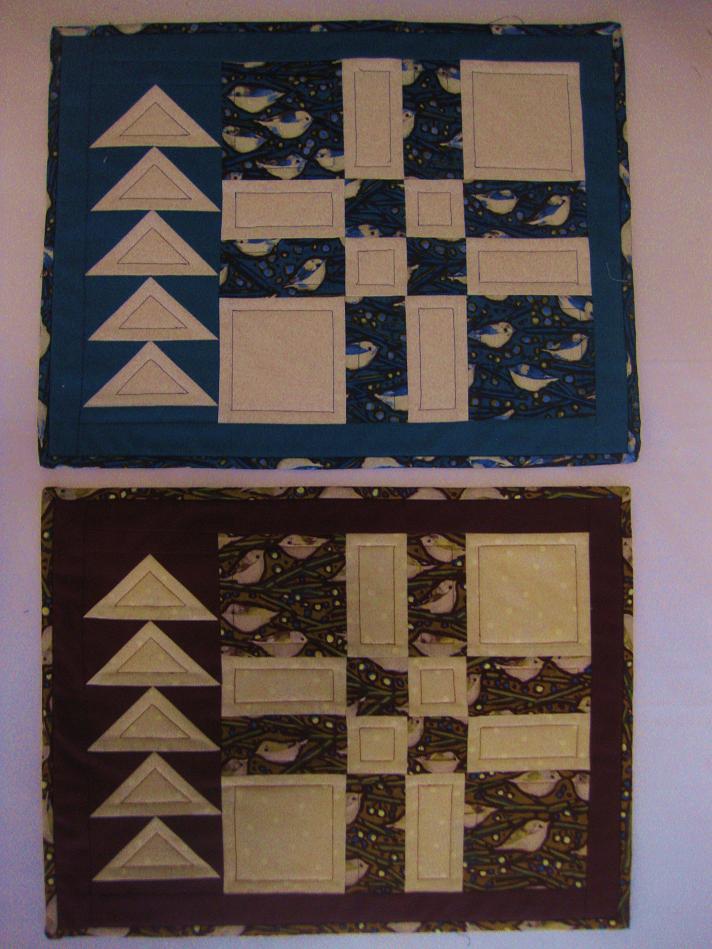 Sandy's placemats