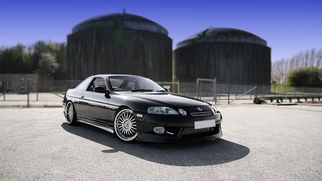Lexus SC 30, japońskie samochody GT, V8