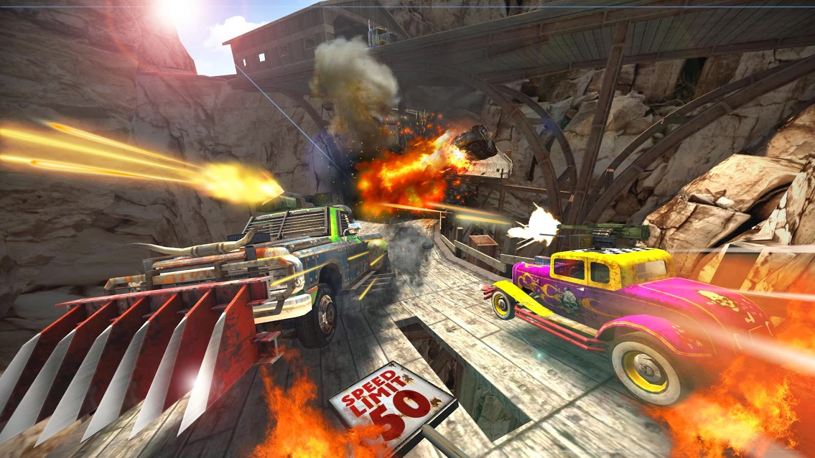 ACTION HERO Death Tour- Racing Action Game