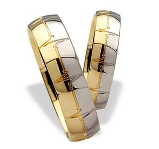 Wedding Ring Two Tone