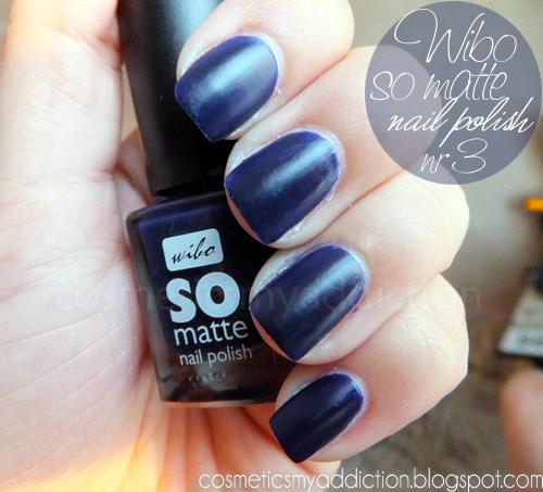 wibo so matte nail polish nr 3