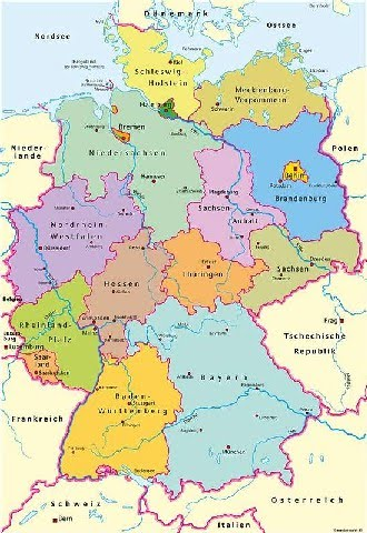 deutschlandkarte karte