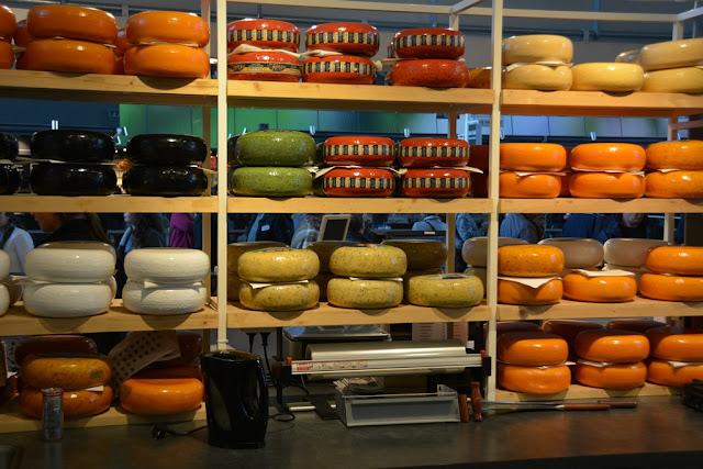 Markthal Rotterdam cheese