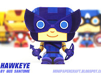 Hawkeye Mini papercraft
