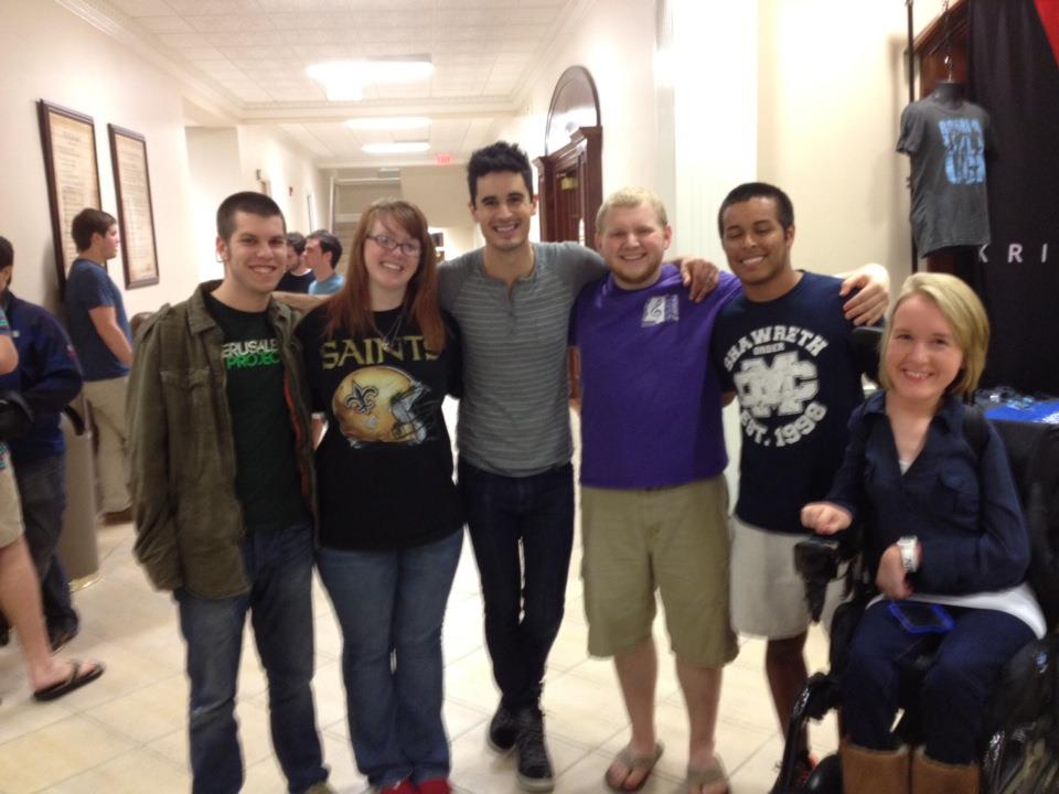 Kristian Stanfill Family Kristian Stanfill came for
