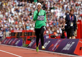 Sarah Attar Olympics 2012