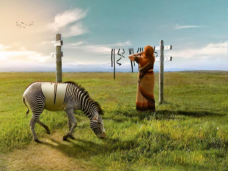 Digital Artist Anil Saxena from Mumbai, India created this set of surreal images using Photoshop.