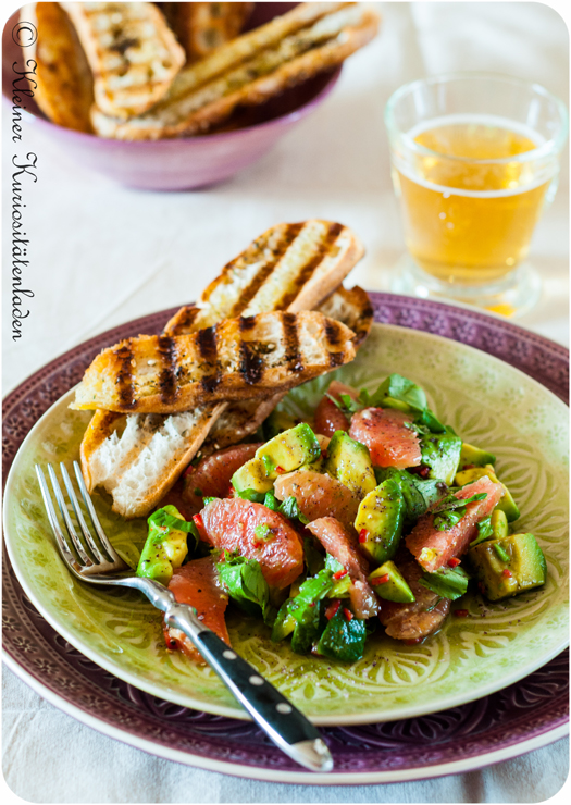 Avocado-Grapefruit-Salat
