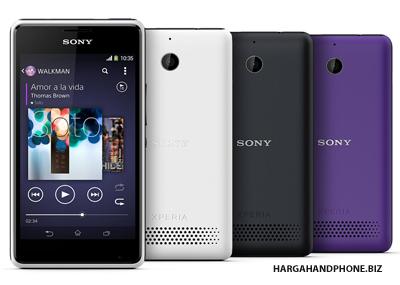 Gambar Sony Xperia E