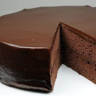 Flourless Chocolate Cake with Chocolate Glaze | Cook'n is Fun - Food ...