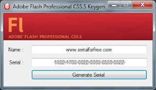 adobe flash cs6 serial number generator online