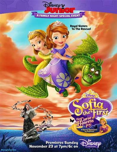 Ver La Princesa Sofía: La maldición de la princesa Ivy (2014) Online