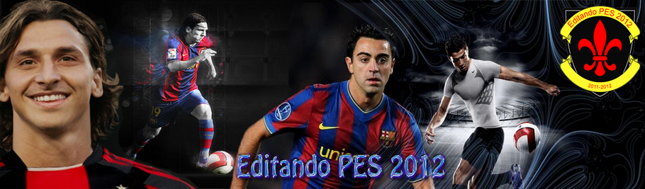Editando PES 2012