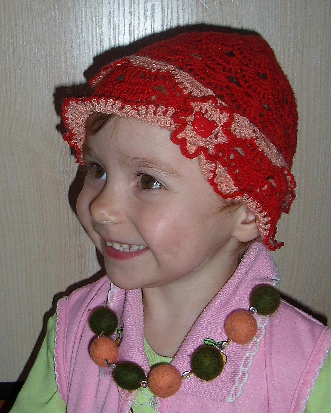 Вязание для маленьких шапочки 55