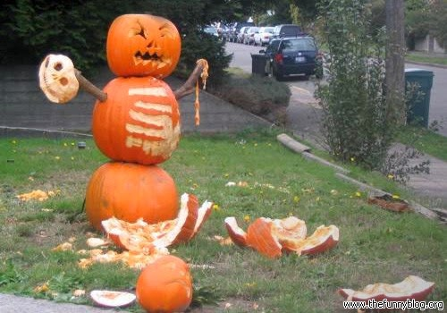 Writings Musings &amp Other Such Nonsense: Friday Faves - Odd Halloween Decorations