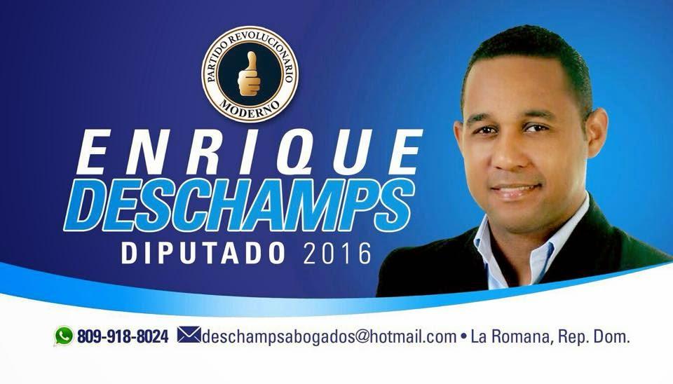 Enrique Deschamps Diputado!