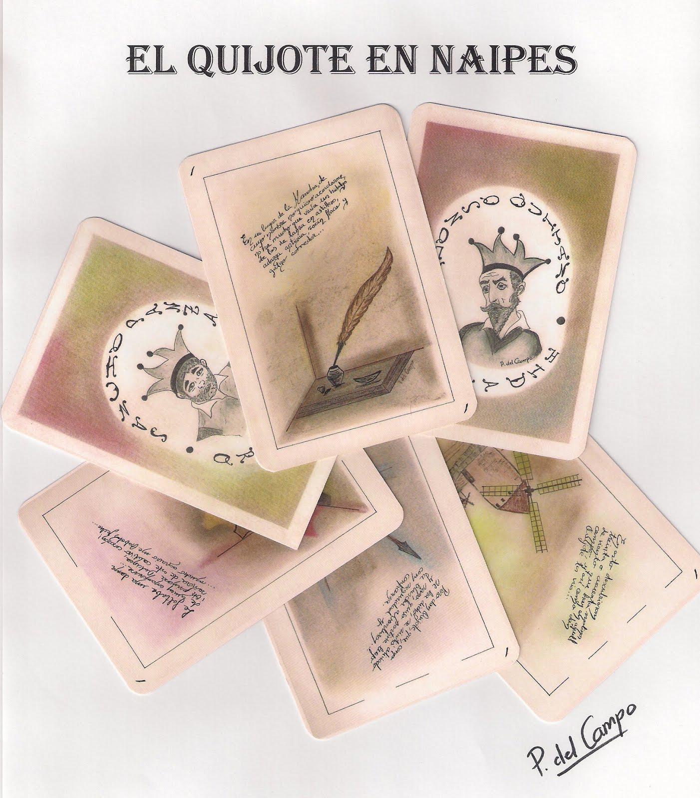 El Quijote en naipes