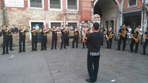 Ceres alla festa del Redentore a Venezia