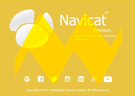 Navicat Premium 11.1.7 Full Crack