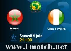 Live Maroc vs Côte d'Ivoire en Direct Online