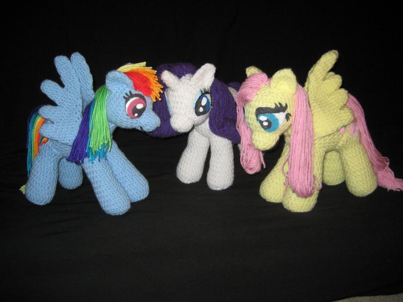 Схемы вязания май литл пони