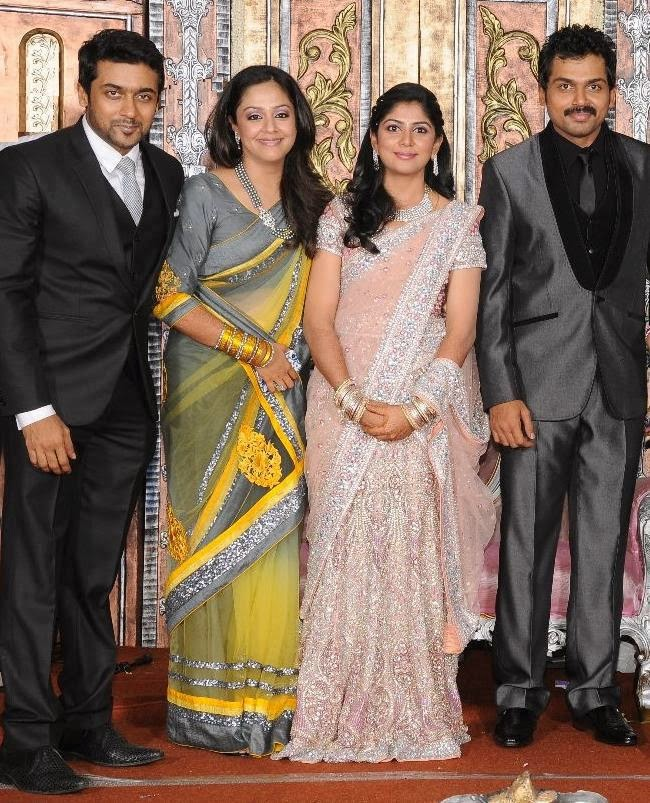 Jyothika Suryas Family Pictures