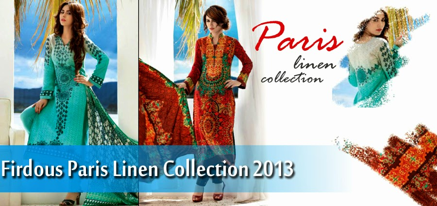 Latest winter paris linen collection by firdous clothing volume 2 pictures