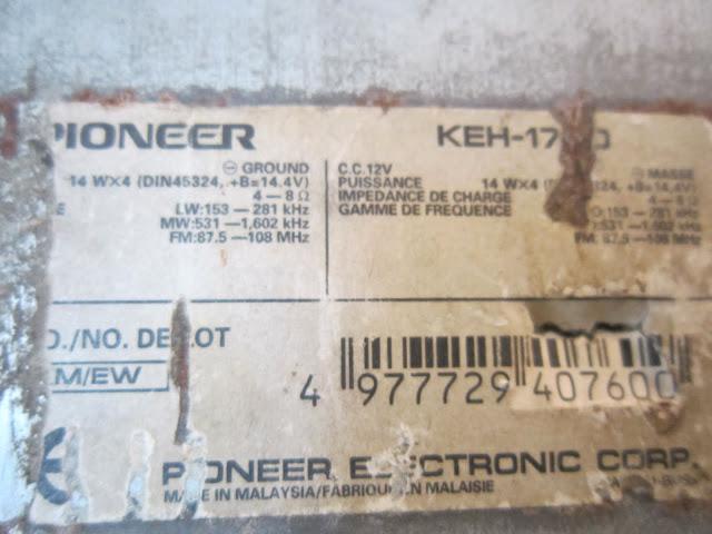 Pioneer keh 1700