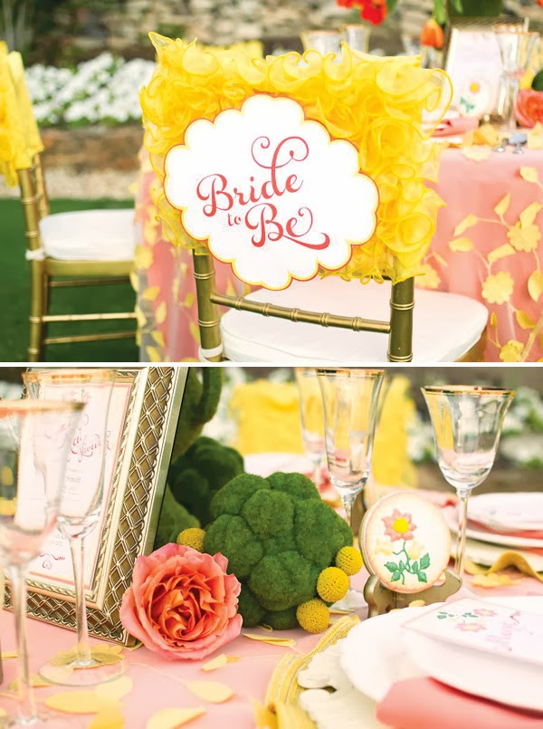 Memorable Wedding Planning A Garden Themed Bridal Shower
