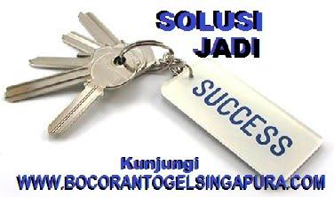 BOCORAN TOGEL SINGAPURA