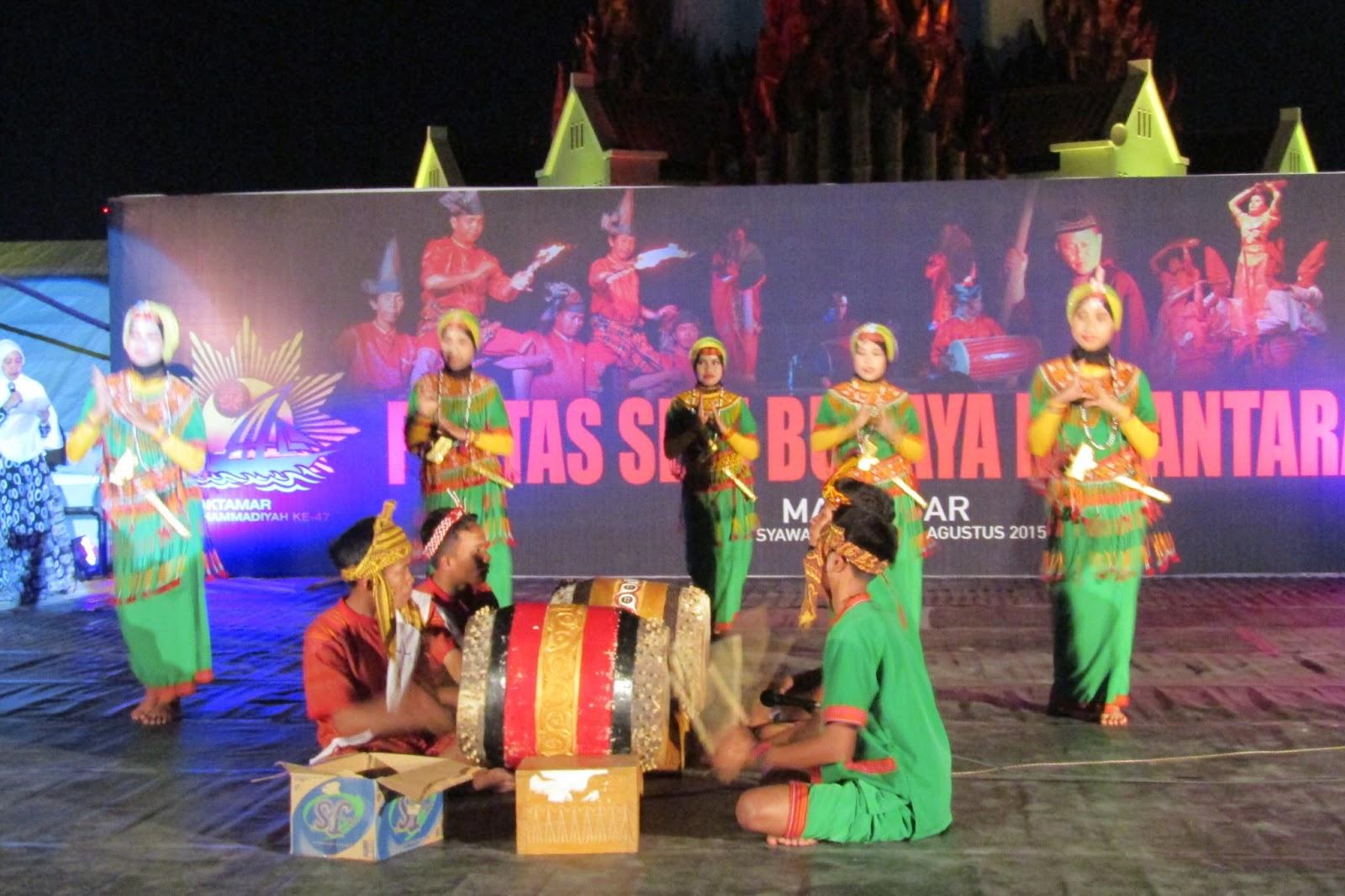Khas Toraja Hiasi Pentas Seni Budaya Nusantara di Monumem Mandala