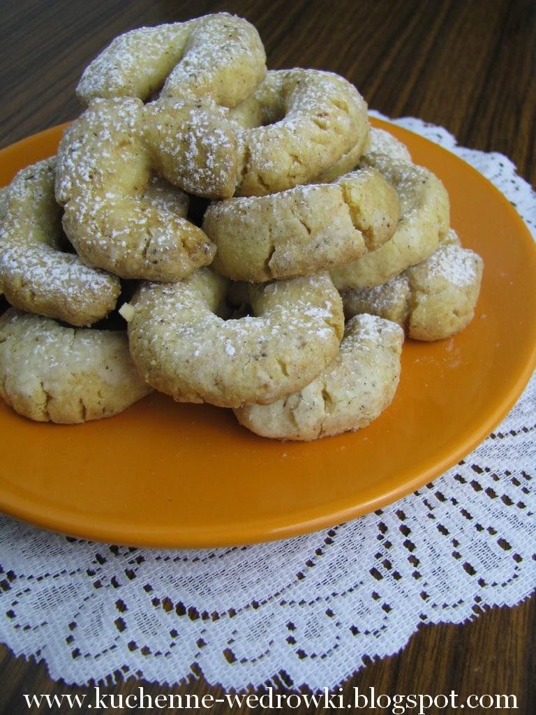 Waniliowe kruche ciasteczka