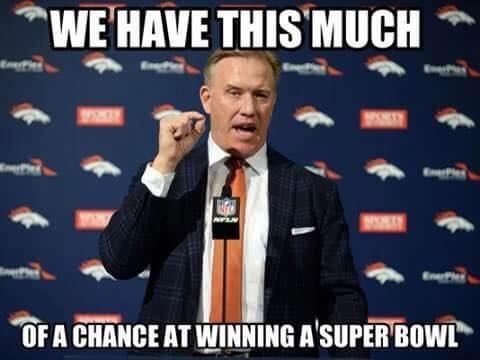 we have this much of a chance at winning a superbowl