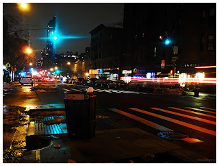 Upper West Side, New York City at Night