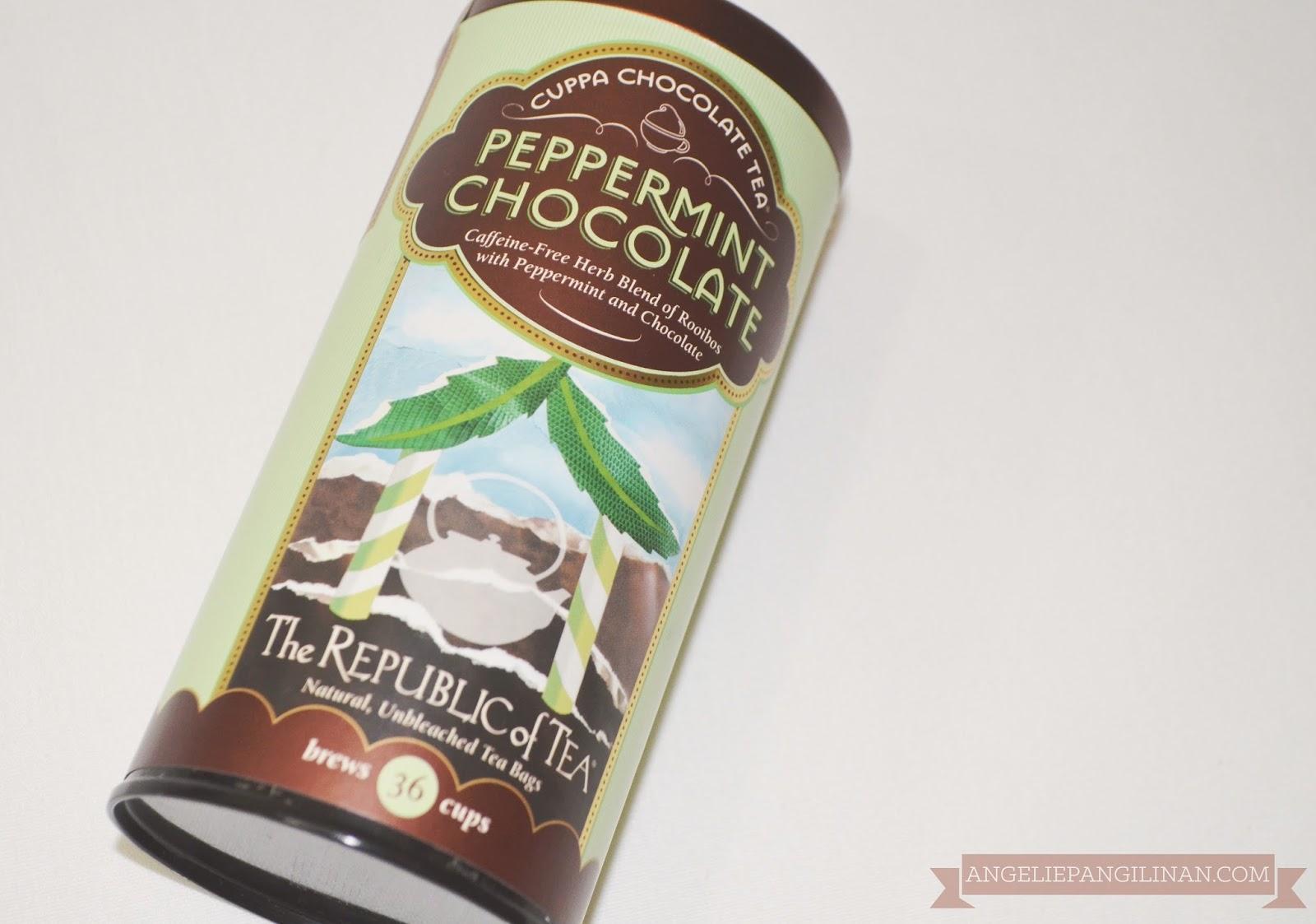 peppermint chocolate tea