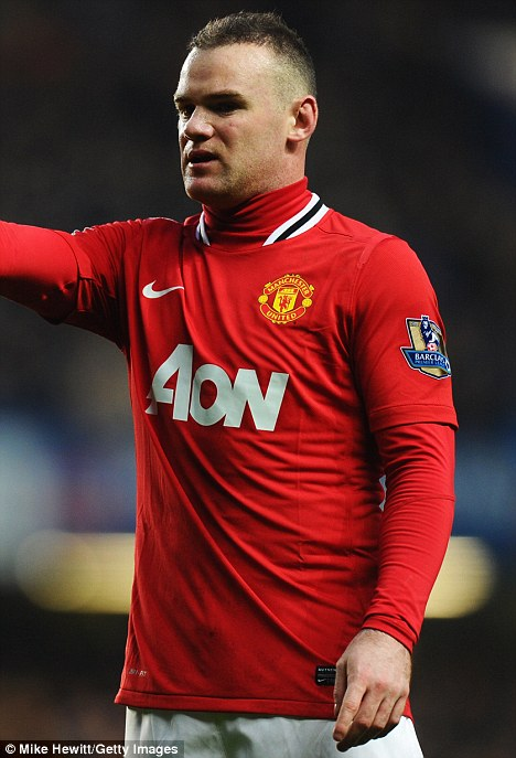 Wayne Rooney Plucked Eyebrows Metrosexual The Manchester United player has already had a hair