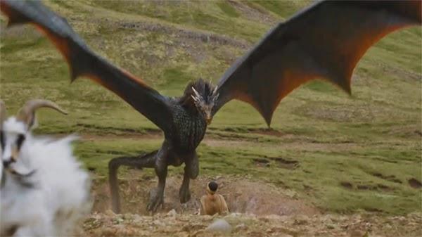 """Dragones en Meereen en """"Juego de Tronos 4x06"""""""