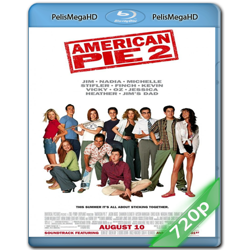 American Pie 2 (2001) 720P HD MKV ESPAÑOL LATINO